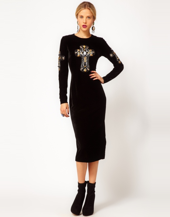 Gothic and edgy from ASOS
