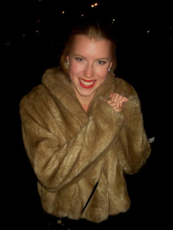 Fur coat paupertoprincess