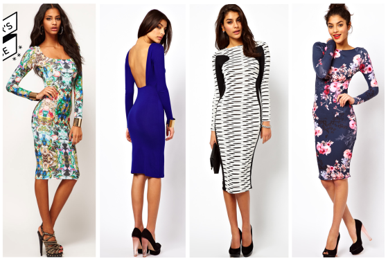 ASOS selection.... bright, tropical, cut out or monochrome - you decide!