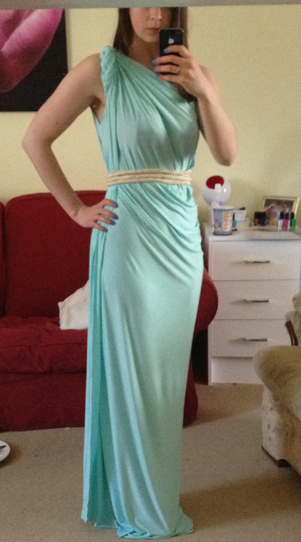 Diy Grecian Maxi Dress Simple 20 Min Tutorial Pauper