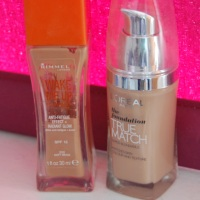 Splurge Friday - L'Oreal vs Rimmel foundation review