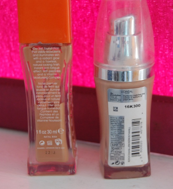 rimmel vs loreal foundation paupertoprincess