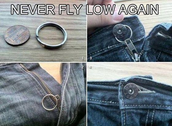 keyring zipper