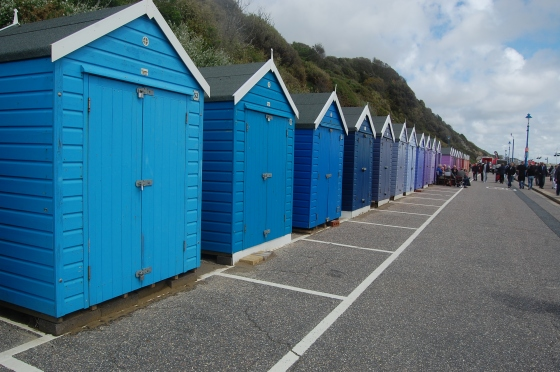 Loving the new pastel beachhuts