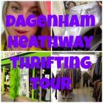 dagenham heathway charity shop vlog tour