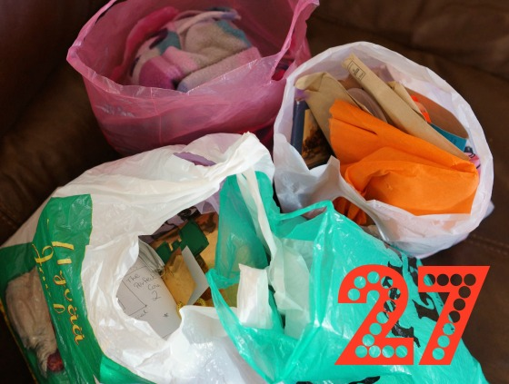 Declutter challenge Day 27