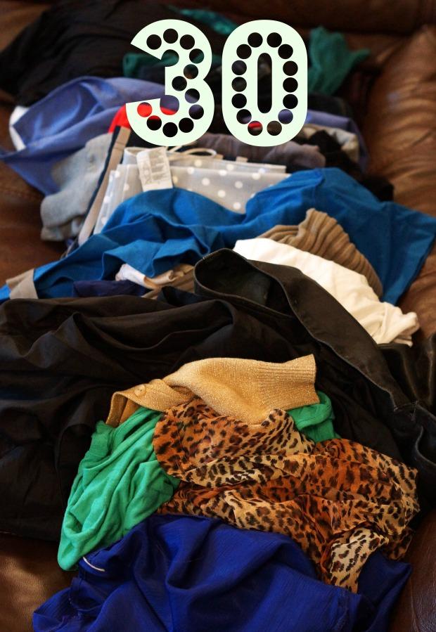 Declutter challenge Day 30